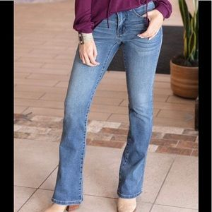 """Flare Jeggings """"Mid-Wash"""" color -NWT"""
